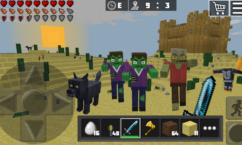 WorldCraft : 3D Build & Craft, minecraft, free, online